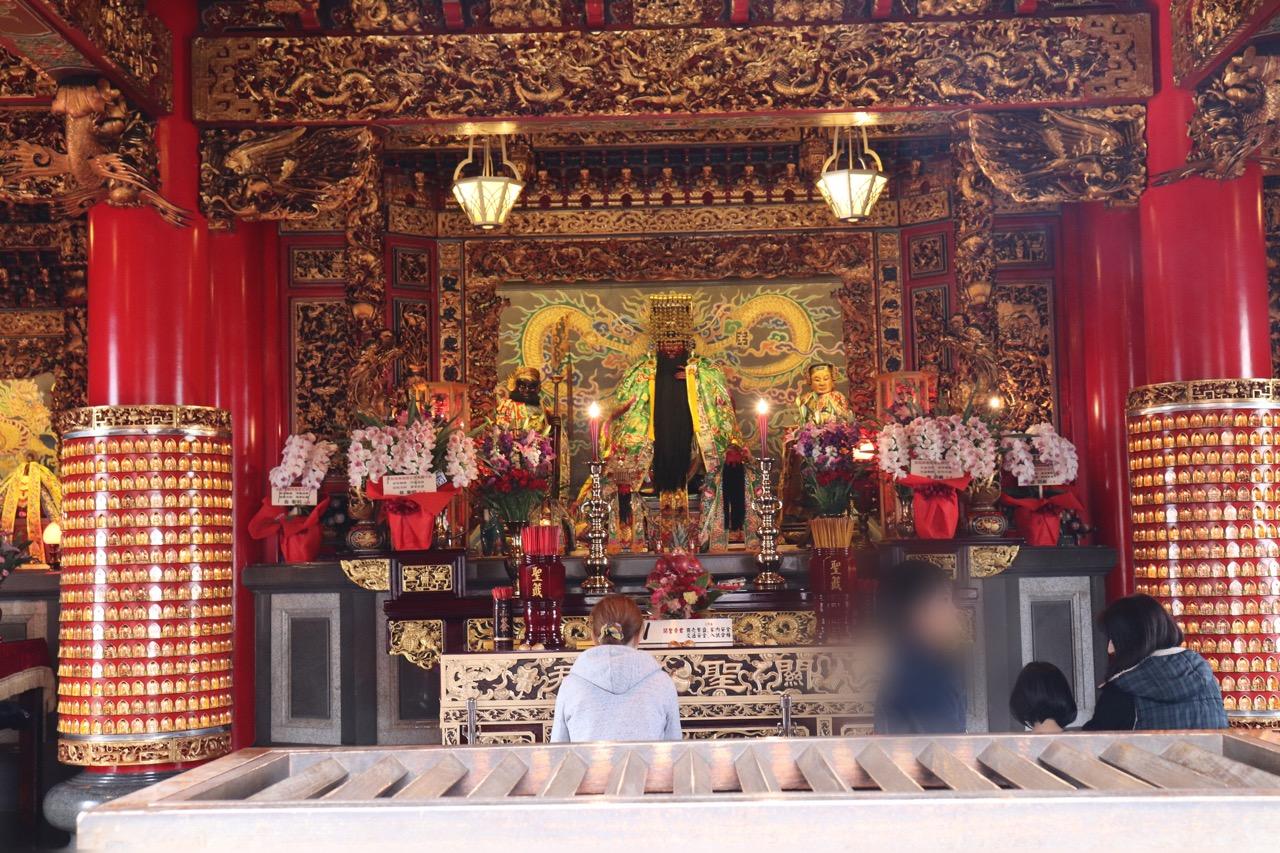 横浜関帝廟の本殿