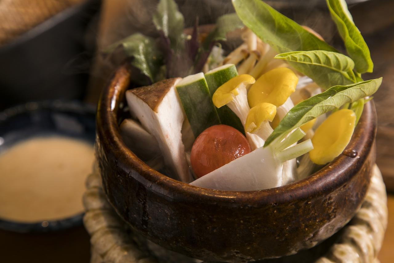 米九のあさごはん 極 野菜しゃぶしゃぶ