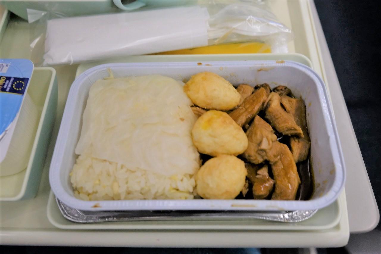 ベトナム航空機内食9