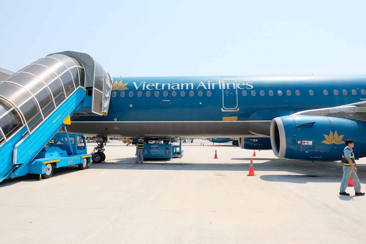 ベトナム航空機内食12