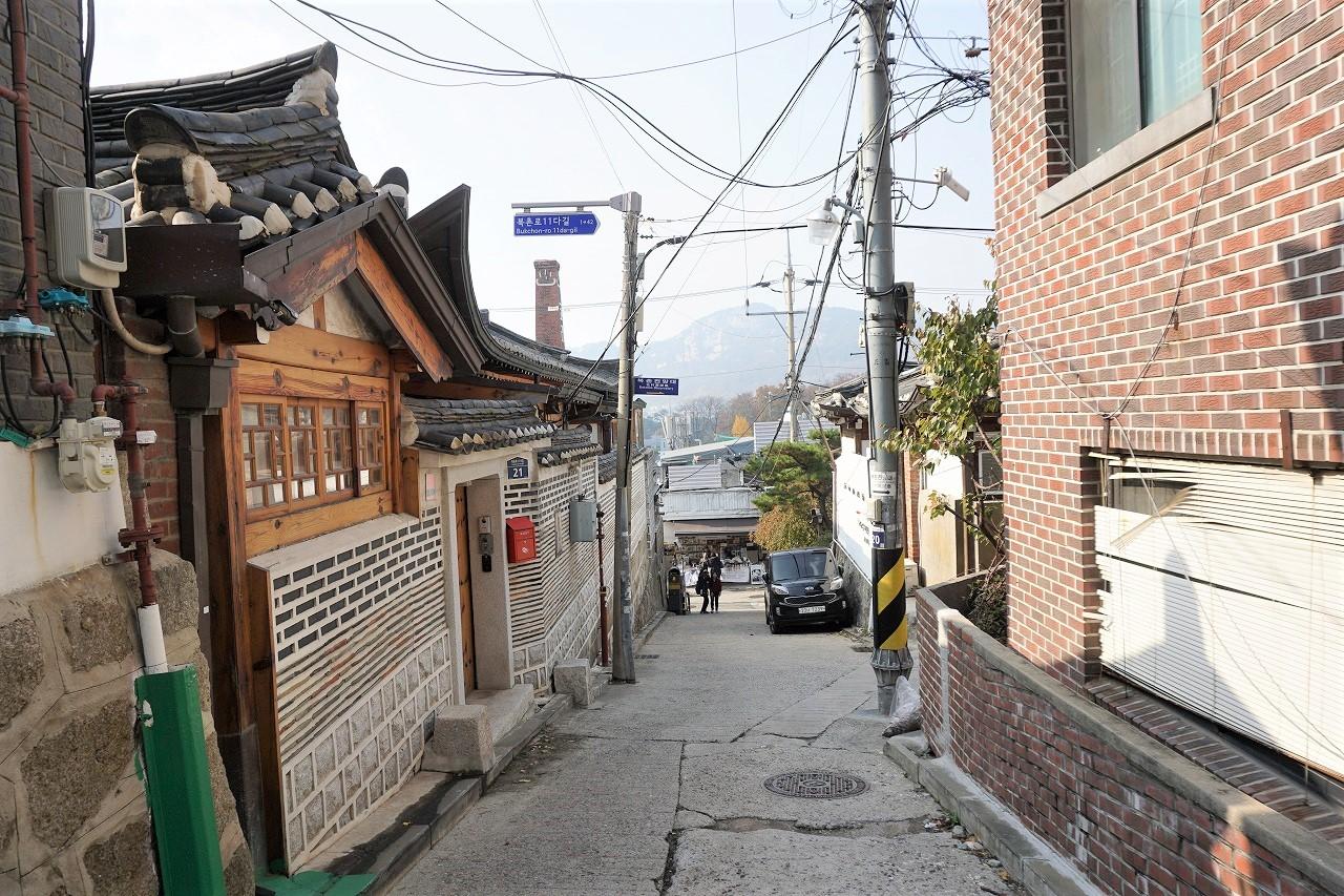 ソウル韓屋村1