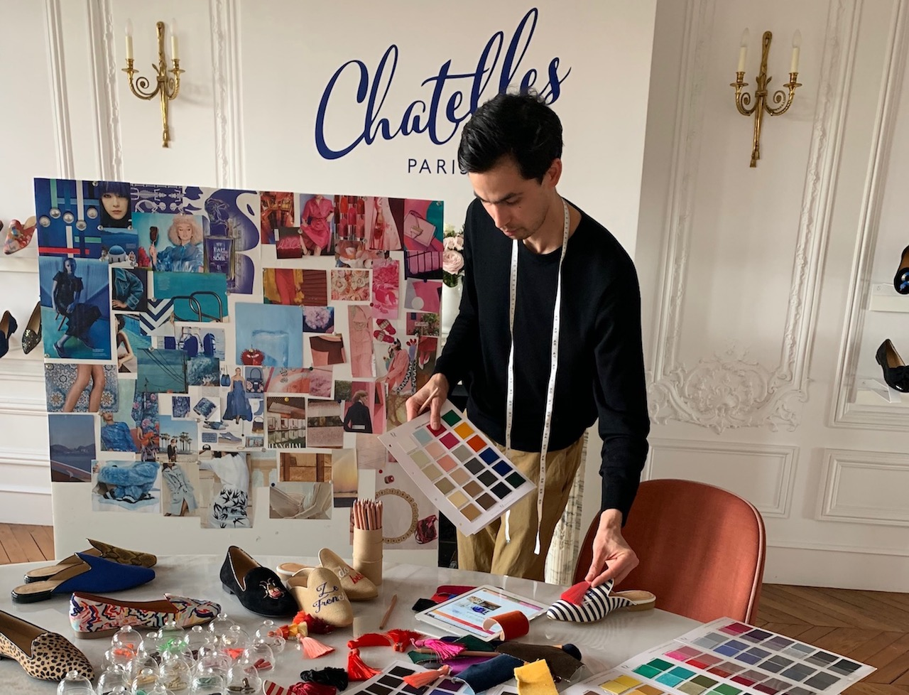 「Chatelles(シャテル)」のデザイナーフランソワ・ドゥ・シャステル氏