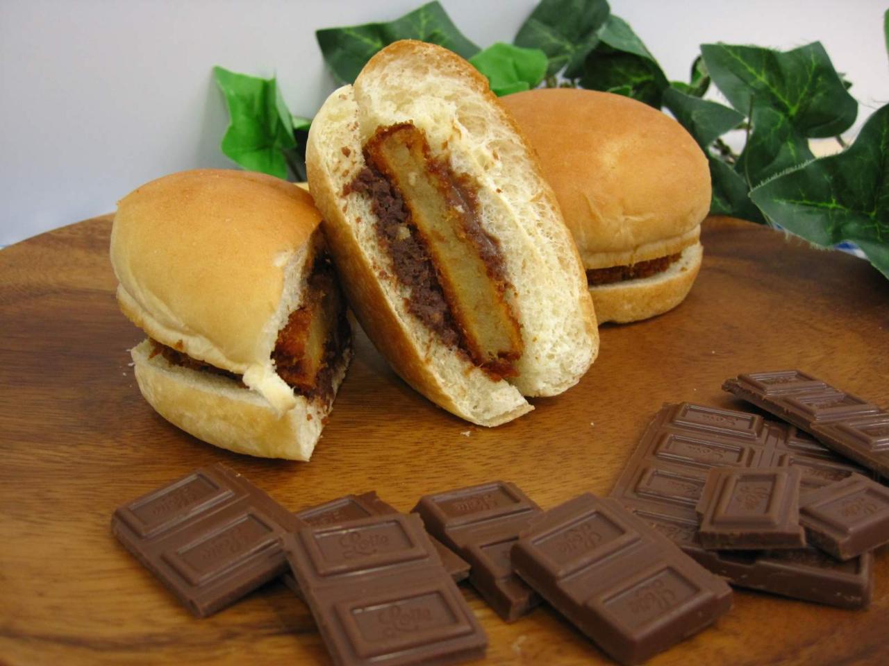 チョコチョコロッケバーガー