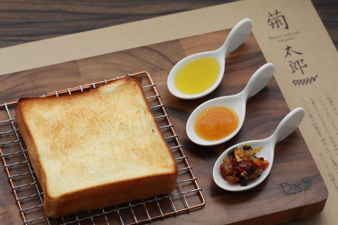 「トーストセット 680円(税抜)」