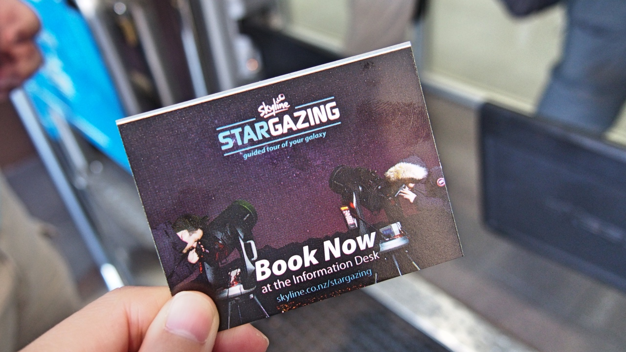 NZ Skyline ticket