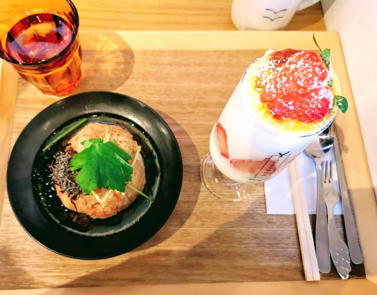 うのまち珈琲店奈良さんお料理