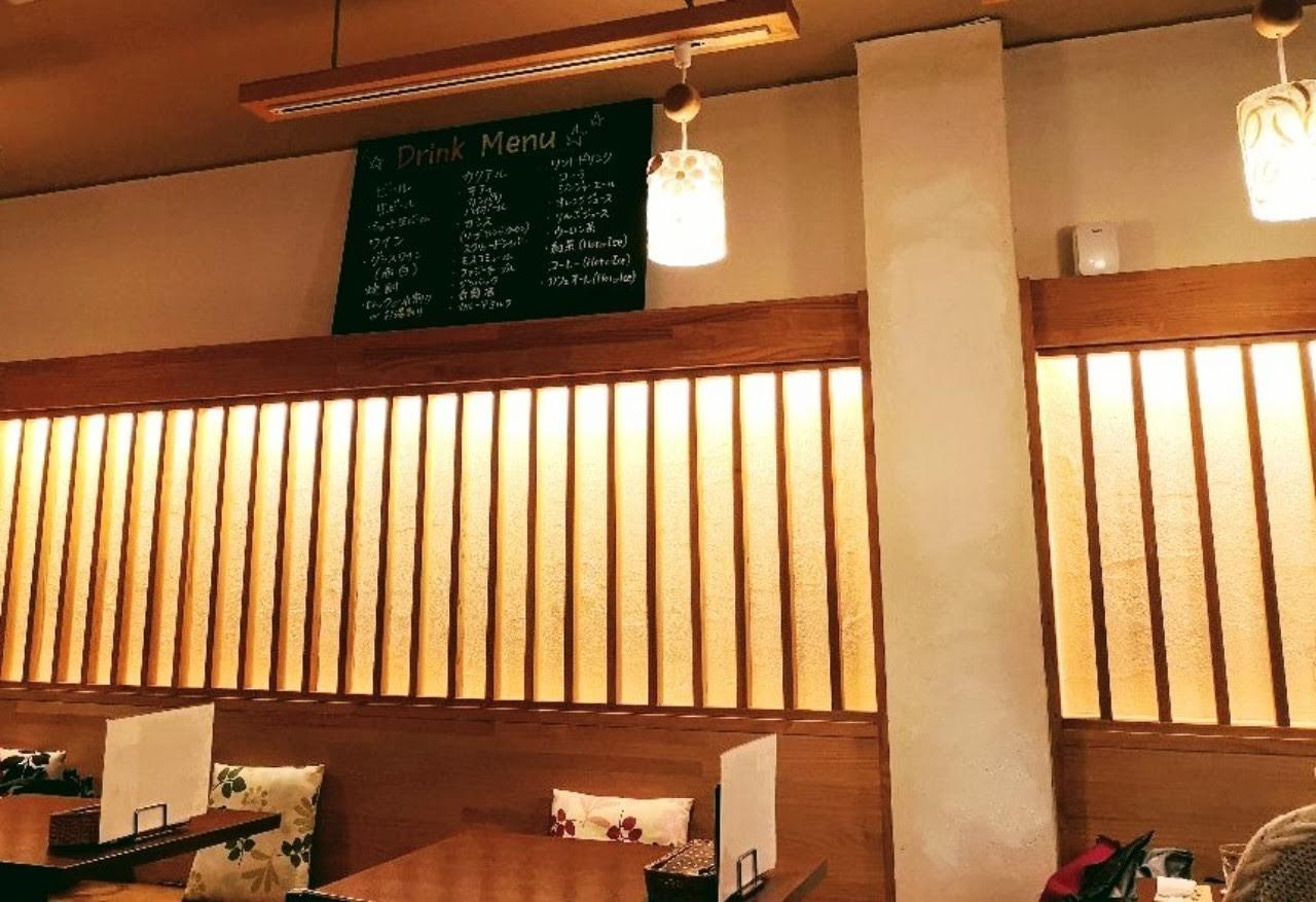 CAFE Luceさん店内
