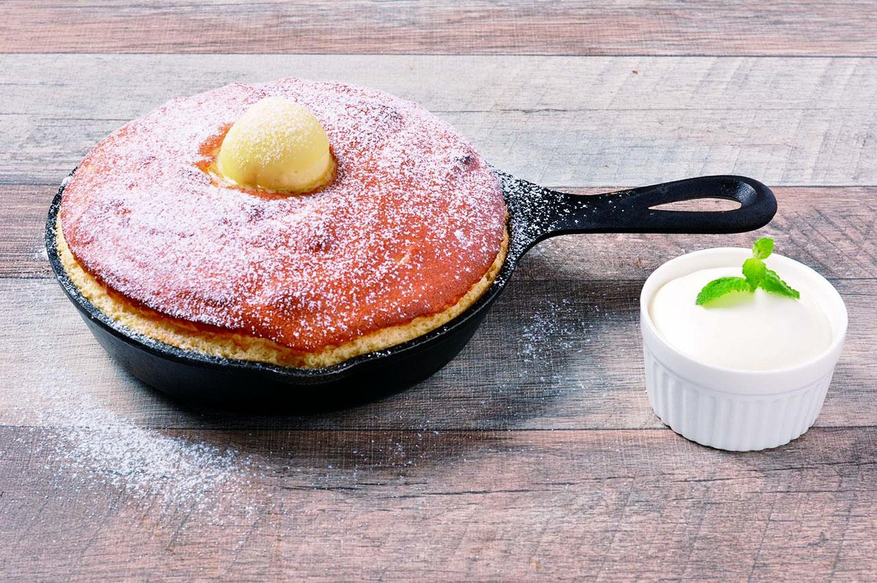 ベルヴィル「スフレパンケーキ」
