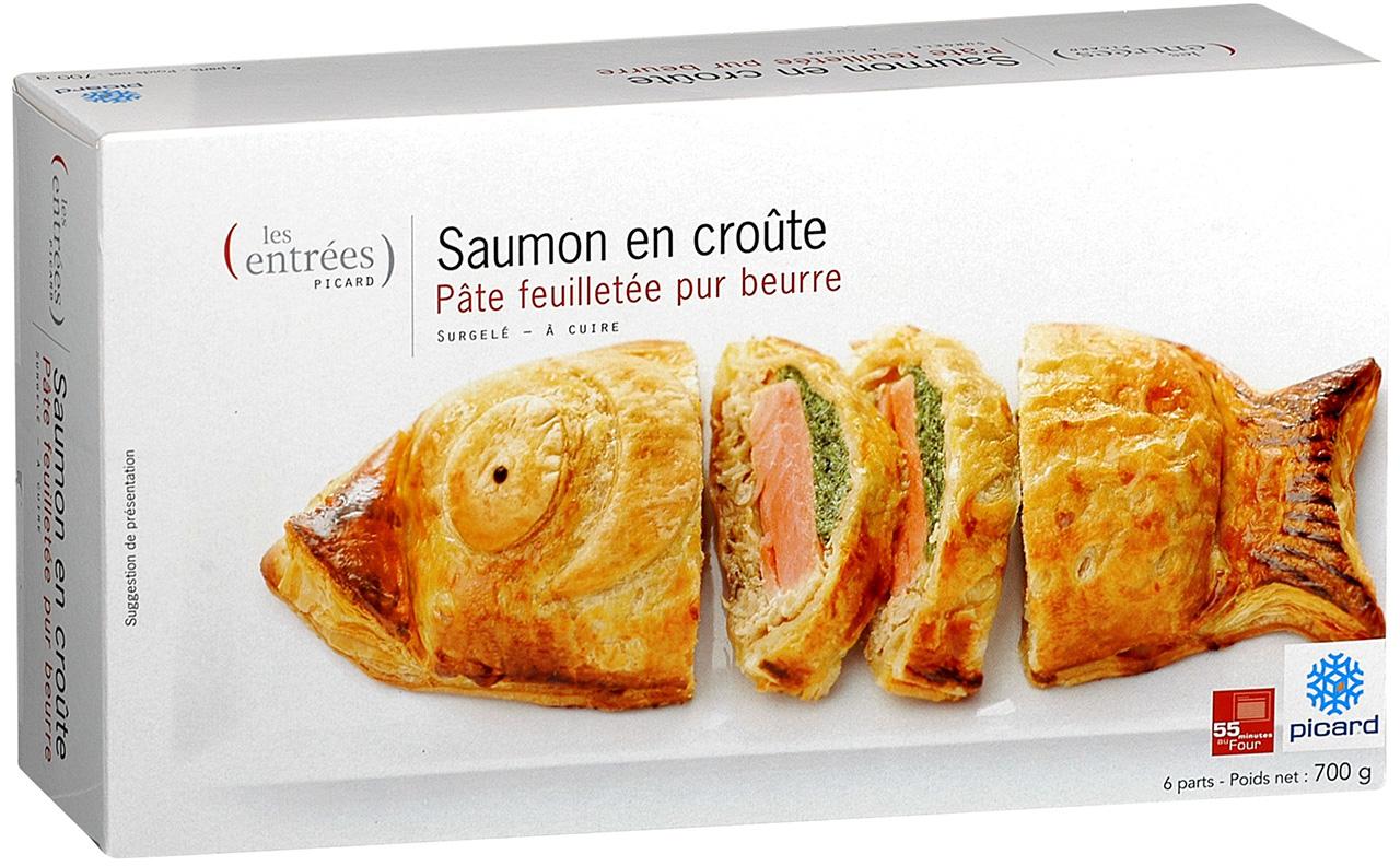 ピカール「サーモンのパイ包み焼き」