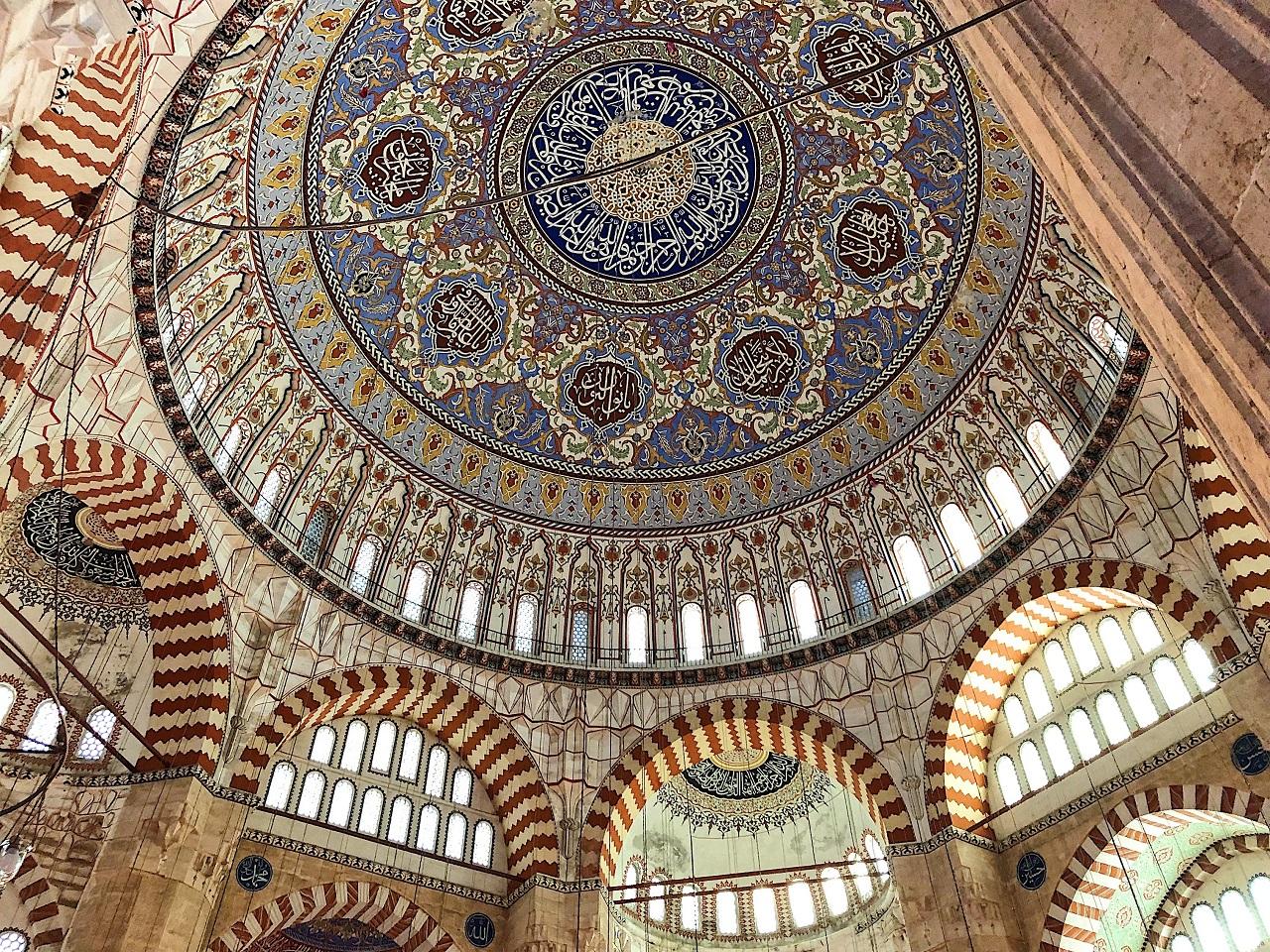 セリミエ・モスクのドーム