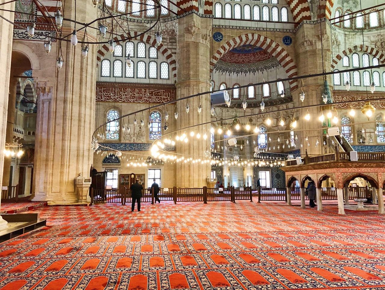 セリミエ・モスク 内部その1