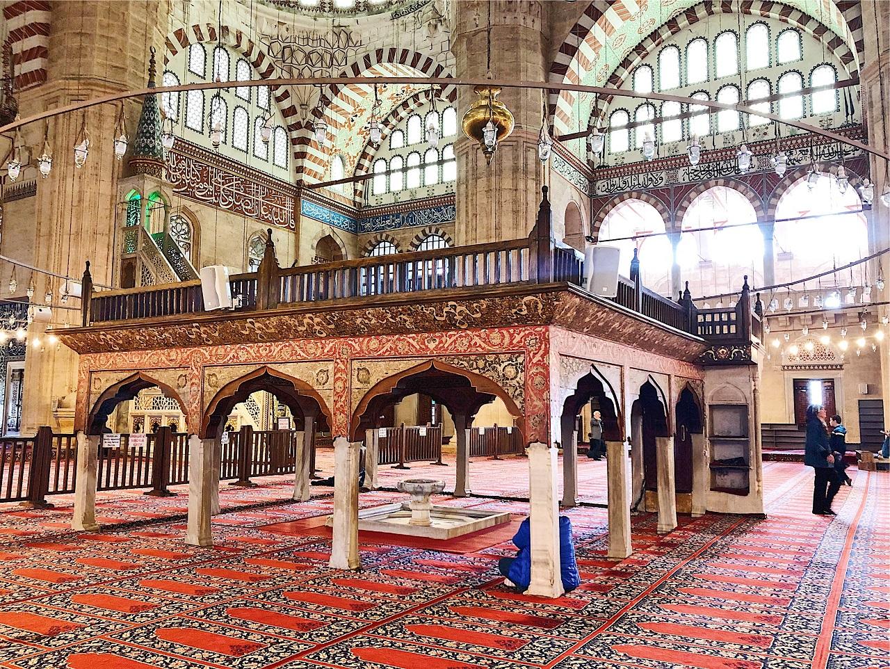 セリミエ・モスク 内部その2