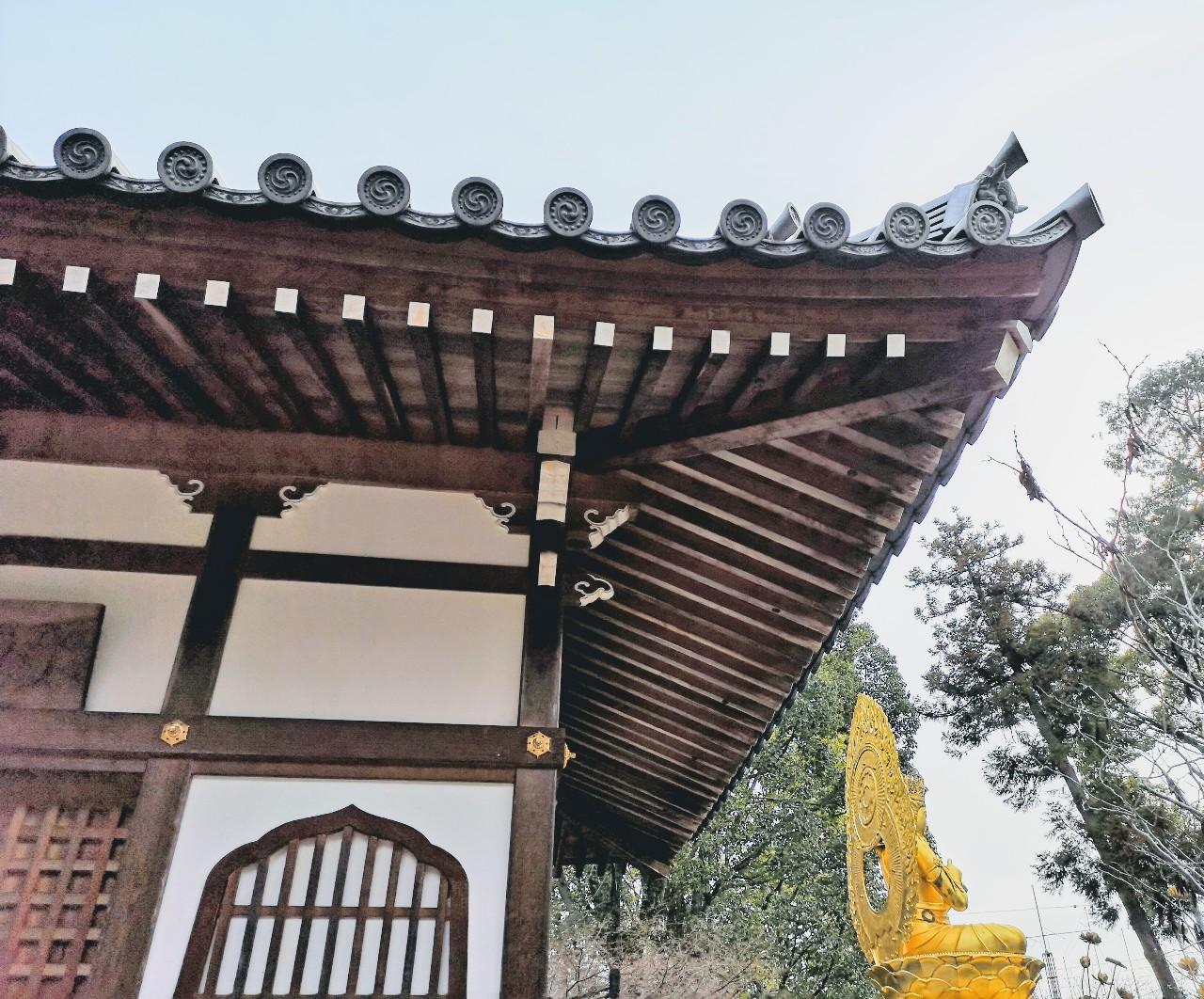 久米寺境内2