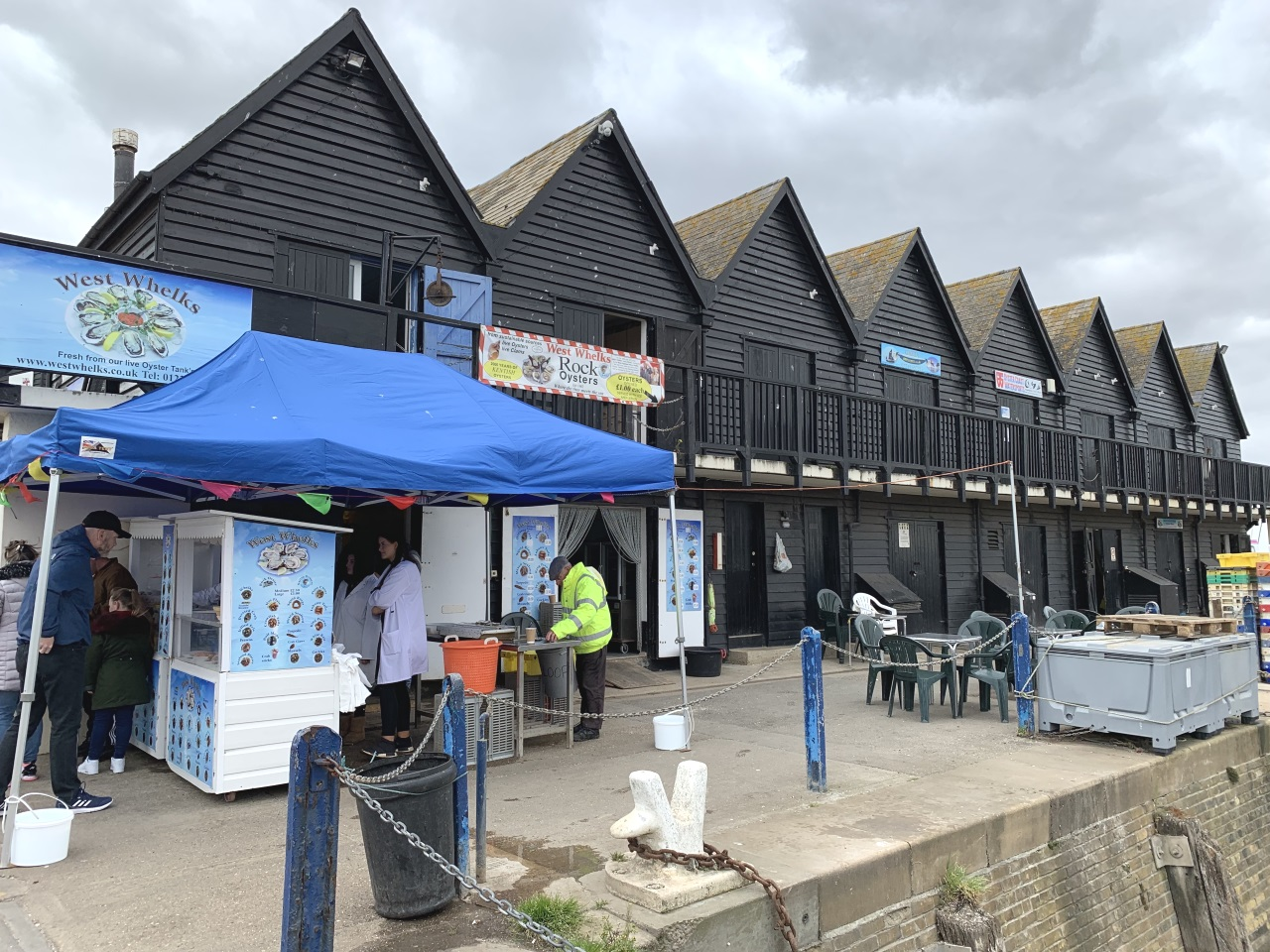 Whitstable Harbour Oyster Store