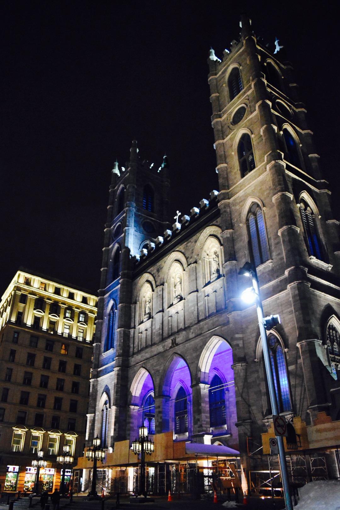 モントリオールのノートルダム大聖堂