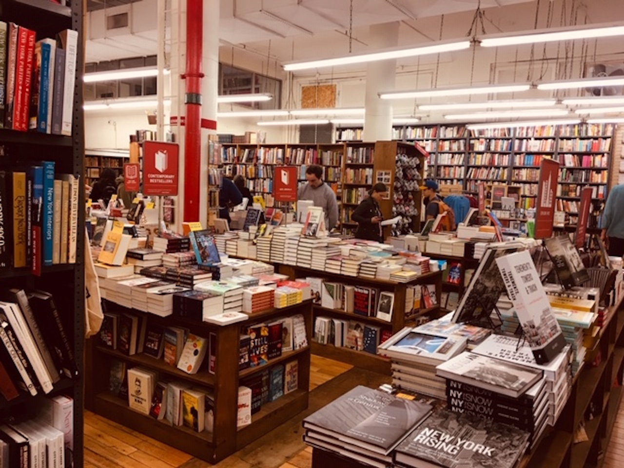 Bookstore inside