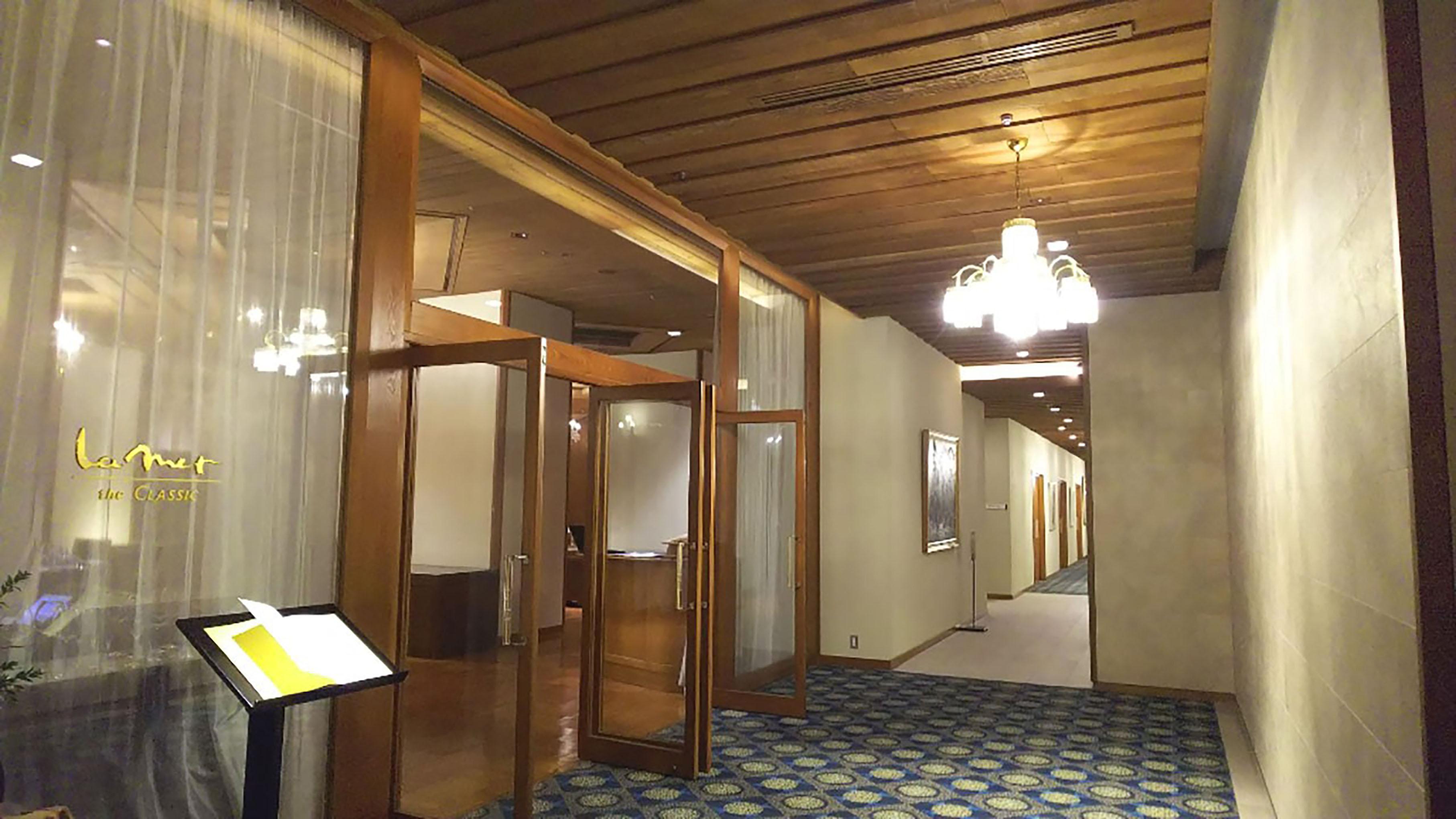 志摩観光ホテルラメールザクラシック入り口