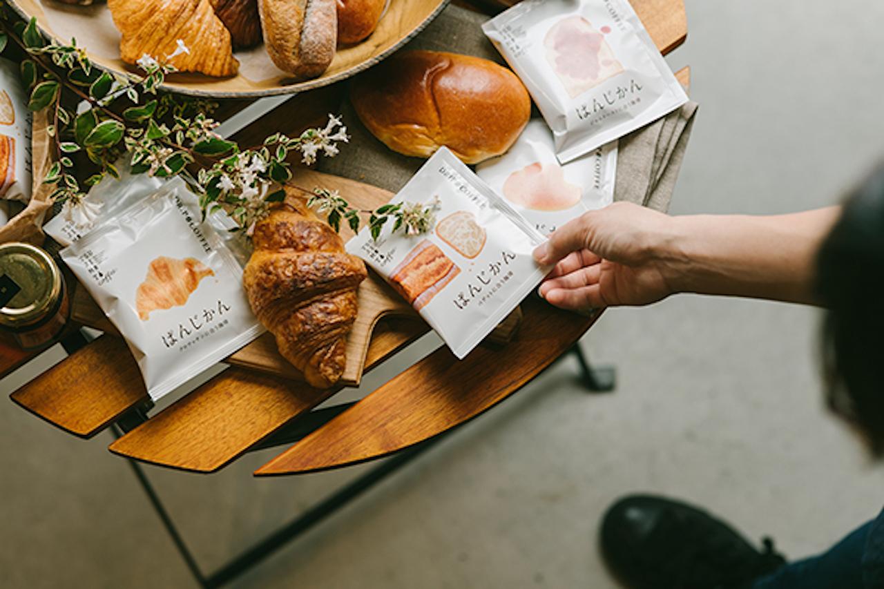 パンとテーブル