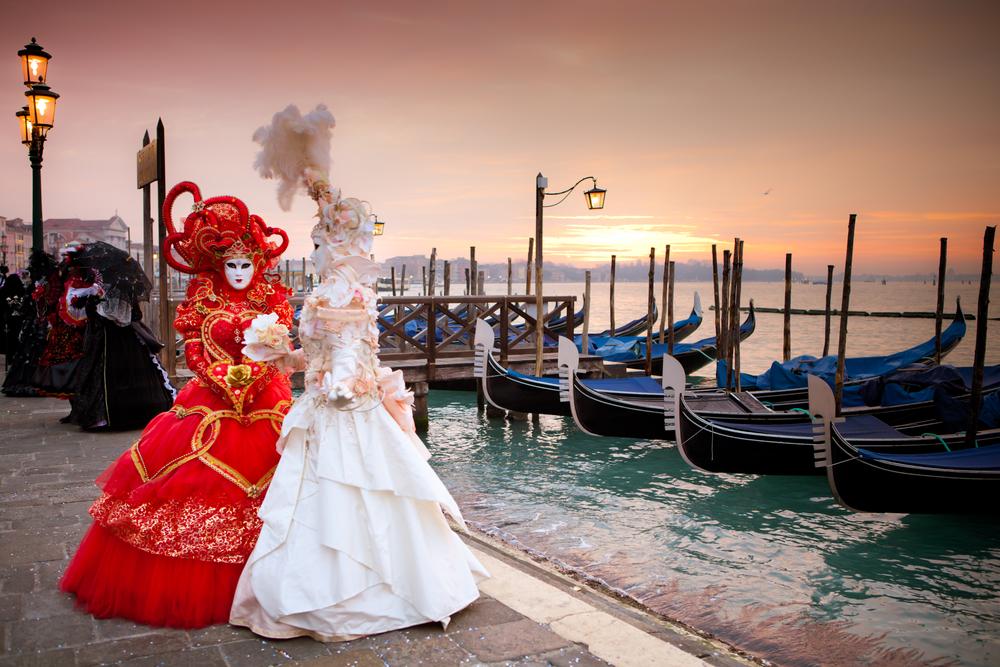 ベネチア女性