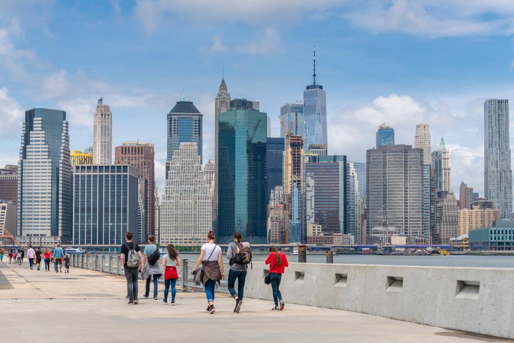 ブルックリンブリッジパーク ニューヨーク