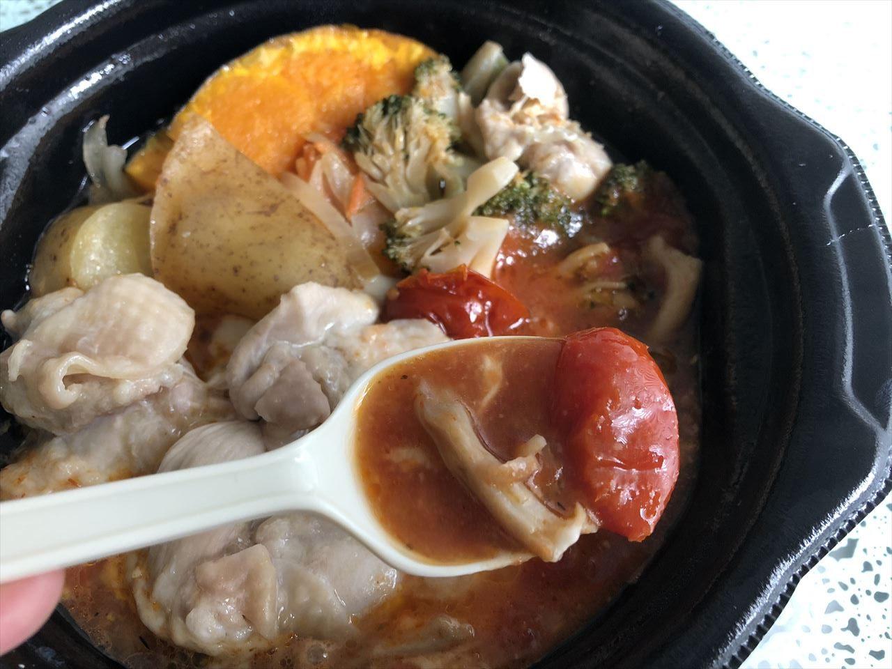 大山鶏の香草トマトチーズ鍋