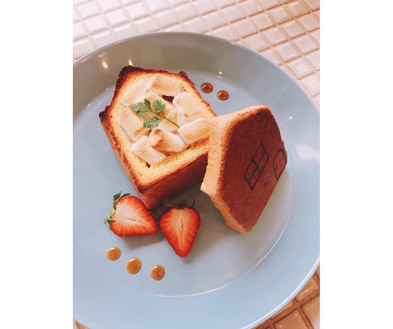 パンとカフェの店BRUNO「マシュマロのおうち」
