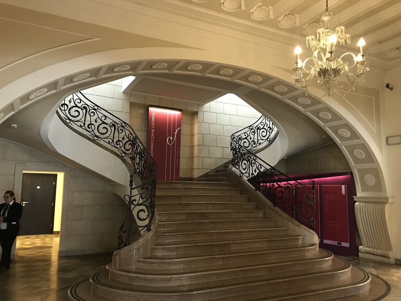 ショパン博物館エントランスホール