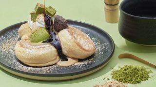 FLIPPER'S「奇跡のパンケーキ 深煎りきな粉と宇治抹茶」