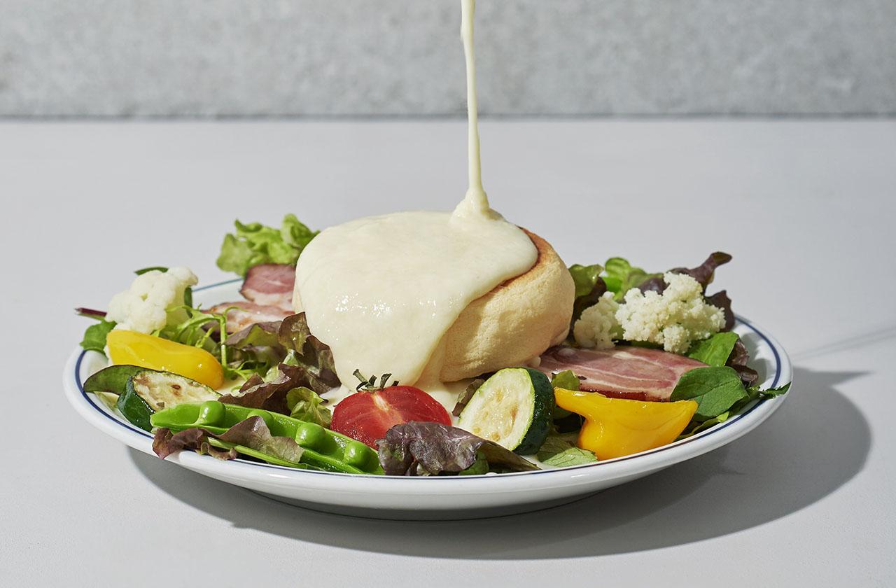 FLIPPER'S「奇跡のパンケーキ チーズチーズチーズ」
