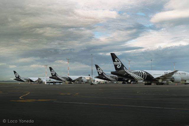 ニュージーランド航空 飛行機