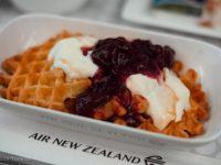 ニュージーランド航空 プレミアムエコノミークラス機内食