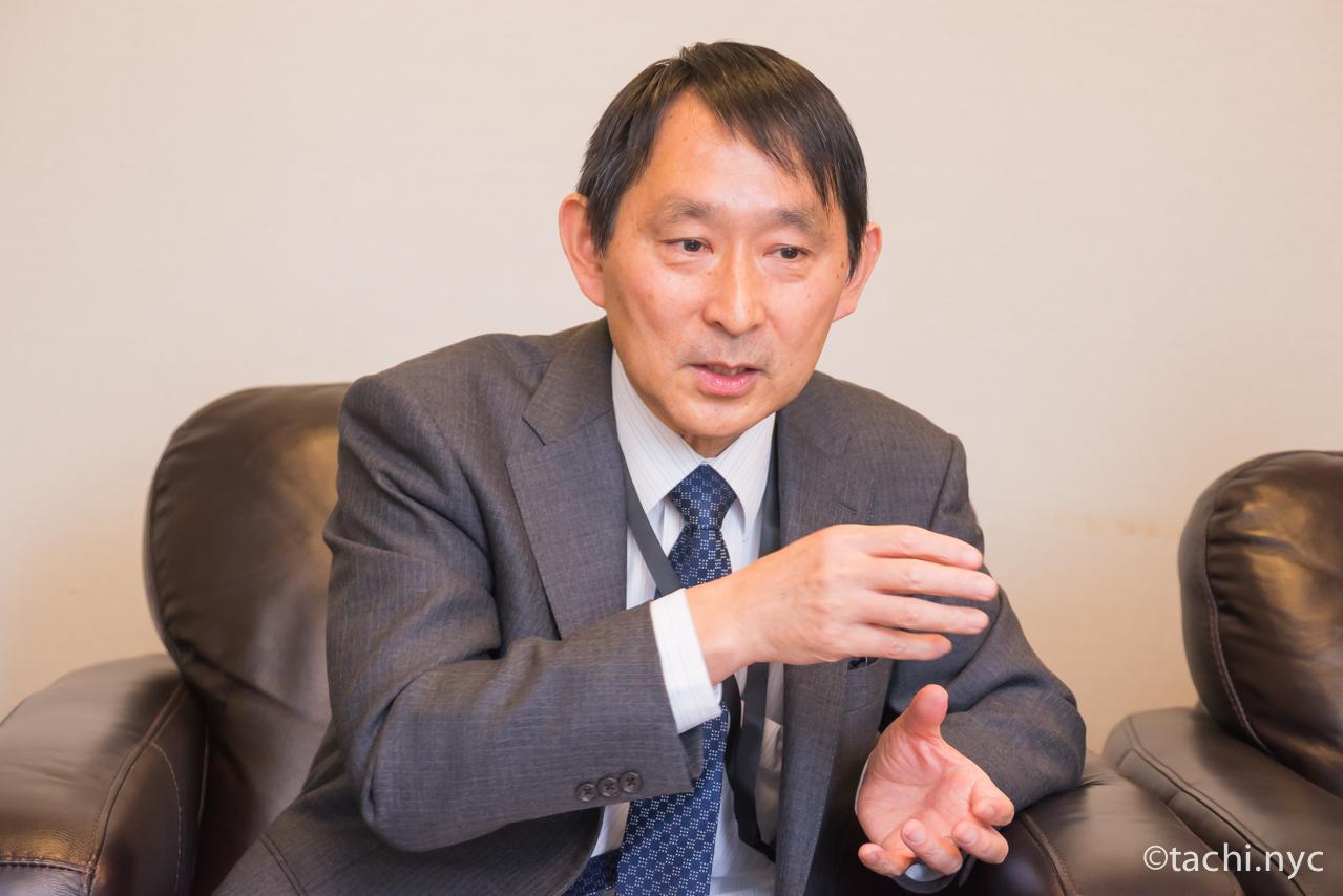 在ニューヨーク日本国総領事館 大橋領事部長