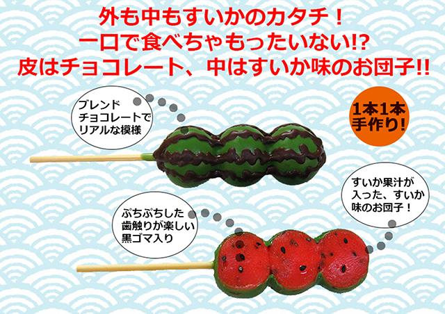 丸八製菓「すいか団子」