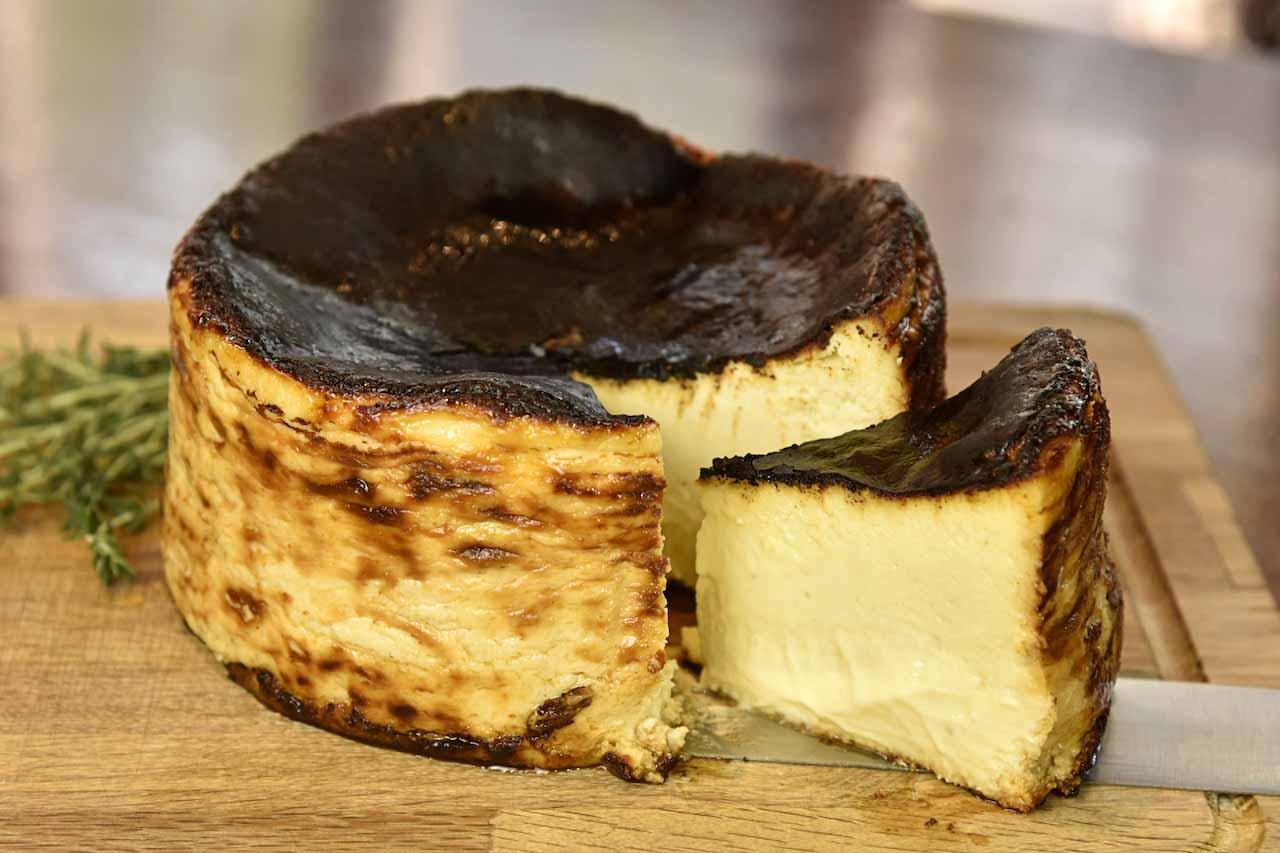 バスクチーズケーキ2