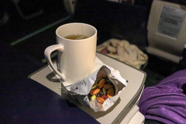 マレーシア航空機内食1