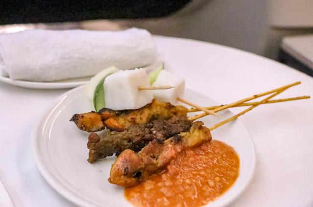 マレーシア航空機内食2
