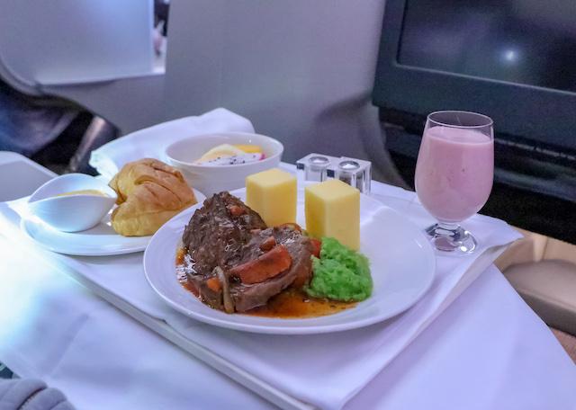 マレーシア航空機内食4