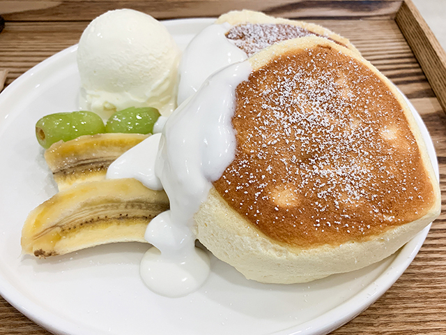 「Andamiro pancake」の絶品ふわふわスフレパンケーキ!