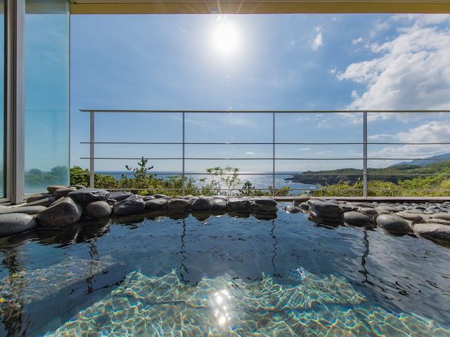 JRホテル屋久島 露天風呂