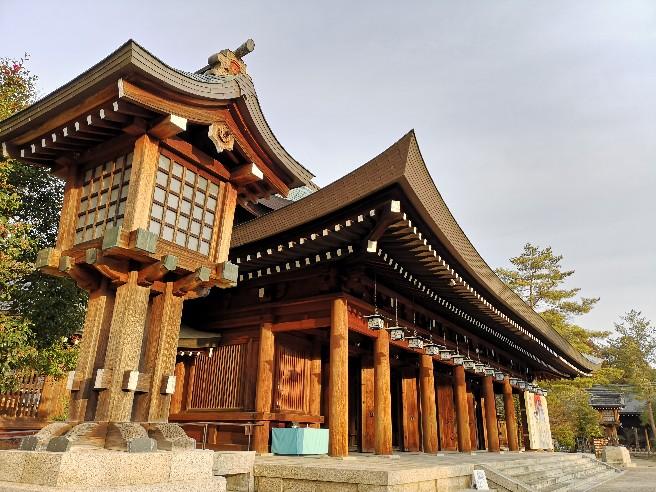 橿原神宮外拝殿