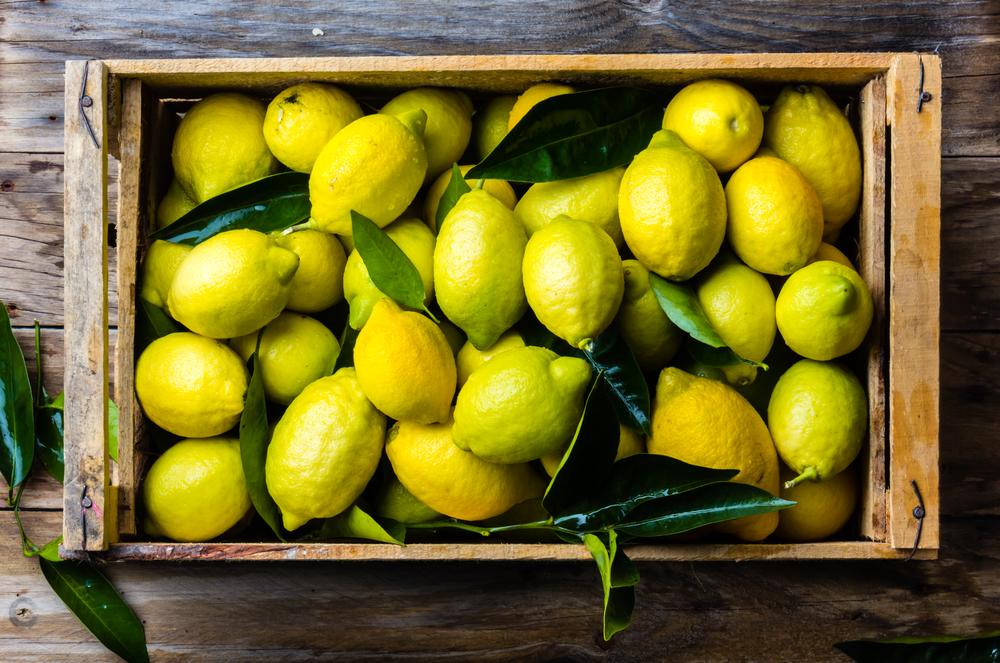 レモン箱入り