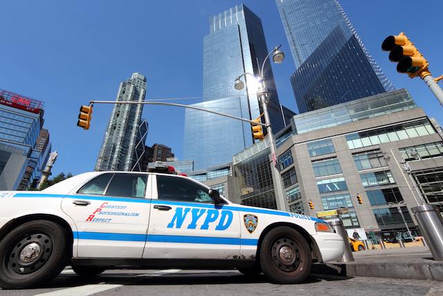ニューヨーク市警察車