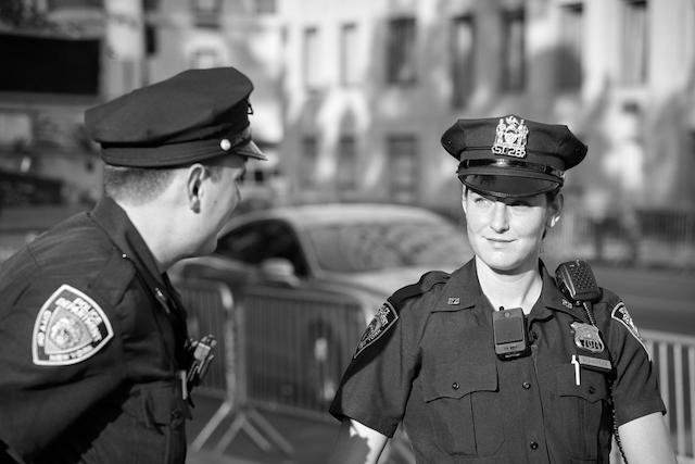 ニューヨークの女性警官