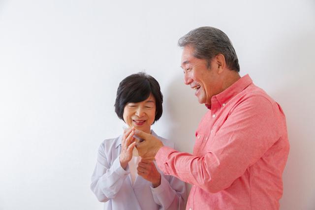 日本の家族も安心