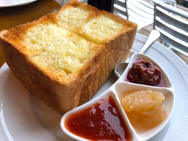 清里ジャム ジャム屋のトーストセット