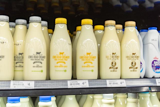 ニュージーランド オーガニックミルク
