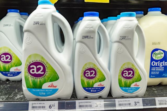 ニュージーランド A2ミルク