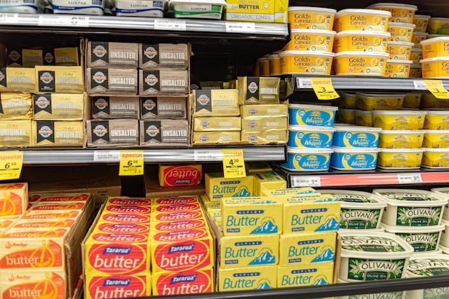 ニュージーランド グラスフェッド バター