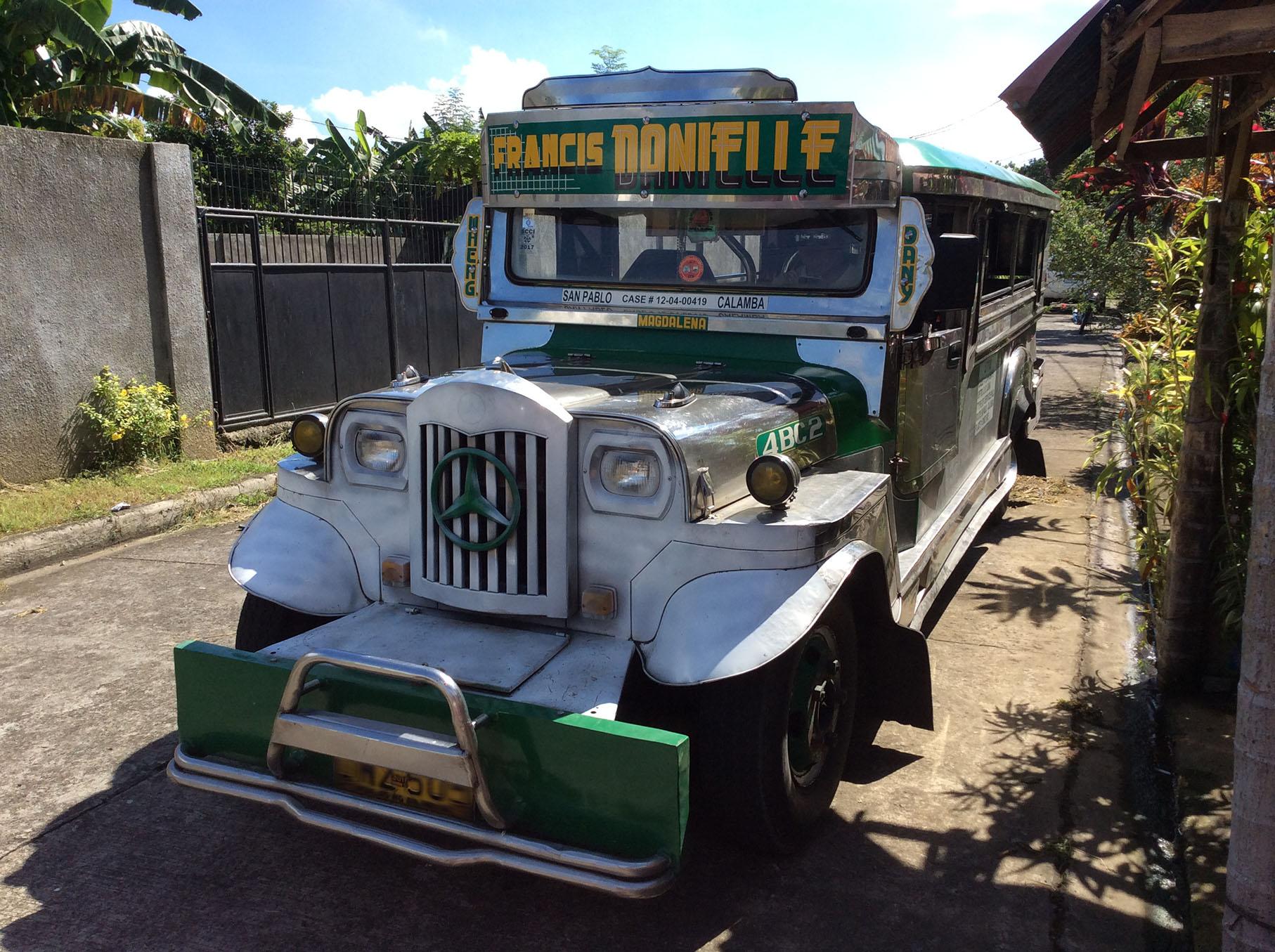 文化ギャップフィリピンの車