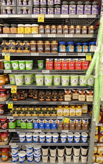 ニュージーランド スーパーマーケット はちみつ